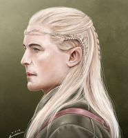 Legolas Greenleaf by Esthiell
