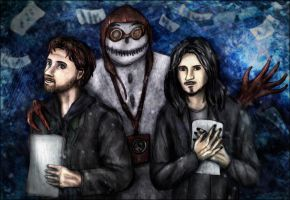 The Writer and the Poet (Alan Wake + Imaginaerum) by SeaCat2401