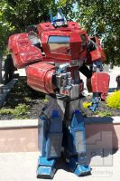 Optimus Prime - 'War for Cybertron' cosplay by Old-Trenchy
