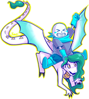 AchrylicaBass and BlueberrySans by Kaweii
