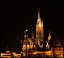 Matthias Church by cyricjumala
