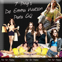 Pack Png Emma Watson 07 by FerPhelps