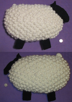 Sheep Bobble Pillow/Plush by Vidimus78