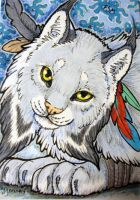 ACEO: Nadine by cloudstar-wolf