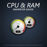 CPU-RAM Gauge by lysy1993lbn