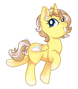 Commish: Lemon Meringue by duskydreamer