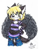 Sheria the Wolf by Britno