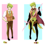 Adoptable Auction: Mahou Shonen: 14 [Closed] by Zehrine