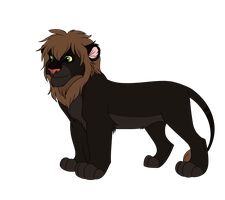Male Lion Adoptable 10 - CLOSED - by Soufroma