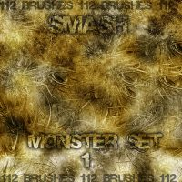 MonsteR SET I '112 brushes' by Smashgfx