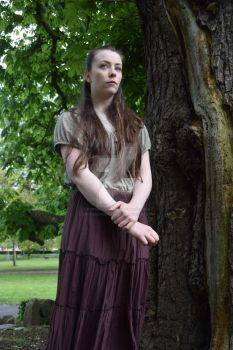 Lizzie, as Eponine by southdevonplayers