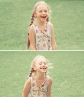 About a Smile. by Lentilcia