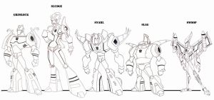 Dinobots 3.0 by wardog-zero