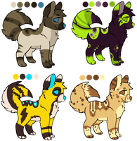 MOAR Dog Point Adoptables! by CherryChum