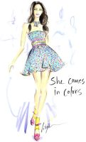 She Comes In Colors by jenniferlilya