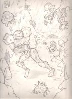 Metroid sketch by mattdog1000000