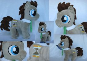 Doctor Whooves Colt Plushie by Miretz