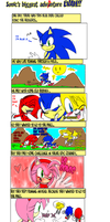 Sonic's biggest adventure eva by missyuna