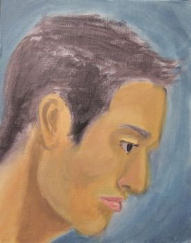 Painting Portrait #3 by gx6