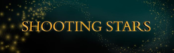 Shooting Stars Title Slide by graph-man