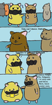 Hamsters Dance by whatonearth