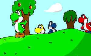 This is Yoshi's Island by SonicFan12334