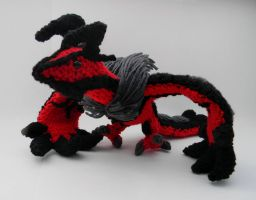 Yveltal ami by gwilly-crochet