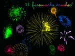 53 Fireworks Brushes by christalynnebrushes