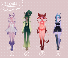 [closed] +Adoptable Auction+ LUMIS by sachcell