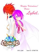 Elsword Valentines by blackbarret07