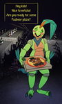 Comm: Jupitalbot has Pizza for you... by the-b3ing