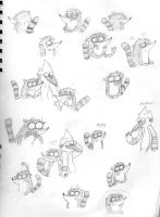 Regular Sketches by BowsersMine