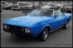 1973 Ford Mustang Convertible by compaan-art