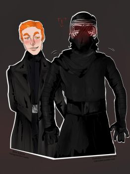 General Hux takes what he wants by GlamRebel