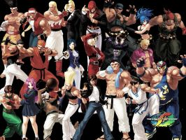 Wallpaper: KOF XII Edited by kaztelli
