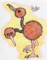 84 - Doduo by JacobMace