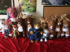 Plushie Christmas Photo by FifiLover