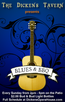 Blues and BBQ at The Dickens Tavern by Valdyr
