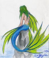 Long-finned Mermaid by Chewilicious