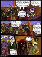 Sea Dog Shenanigans- Page 9 by Morghiesart
