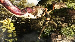 Tomb Raider Reborn: Arrgh! Not a Giant Snake! by adorety