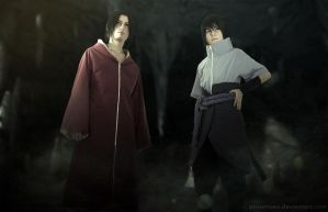 Itachi and Sasuke 578 by proSetisen