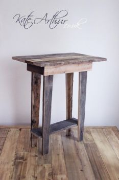 Reclaimed Wood - Side Table by kate-arthur