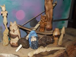 Carvings by Mudchild