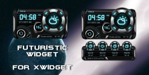 Futuristic Widget HQ for xwidget by jimking