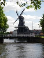 windmill at Haarlem by Alpha-Maus