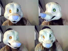 fursuit wip by Chargay