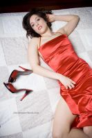 Red Dress by christinephotog