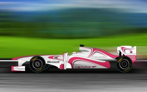 Lily-Lotus GP In A Race by BayuBaron