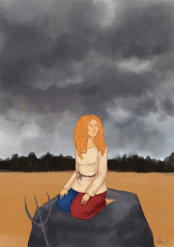 a moment before thunder by Chandri